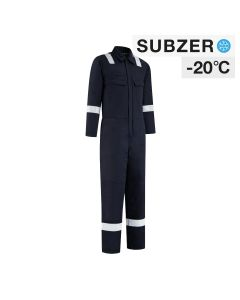 Dapro Blizzard Multinorm Lined Winter Overall - Navy Blue - Flame-Retardant , Anti-Static and Welding