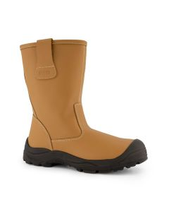 Dapro Elements 4 S3 C Safety Boots - Light Brown - Steel Toecap and Anti-Perforation Steel Midsole