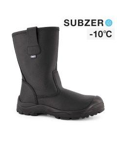Dapro Intrepid S3 C Subzero® Fur Lined Safety Boots - Black - Steel Toecap and Anti-Perforation Steel Midsole