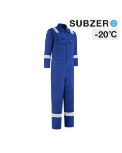 Dapro Blizzard Multinorm Lined Winter Overall - Royal Blue - Flame-Retardant , Anti-Static and Welding