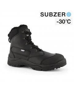 Dapro Canyon C S3 C Subzero® Fur Lined and Insulated Safety Shoes - Black - Composite toecap and Anti-Perforation Textile Midsole