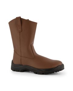 Dapro Driller S3 C Safety Boots - Size - Brown - Steel Toecap and Anti-Perforation Steel Midsole