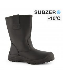 Dapro Elements 4 S3 C Subzero® Fur Lined Safety Boots - Black - Steel Toecap Anti-Perforation Steel Midsole