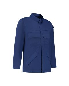 Dapro Multirisk Multinorm Jacket 98% Cotton - Royal Blue - Flame-Retardant, Anti-Static, Welding, Arc Flash Protection and Chemical Resistant