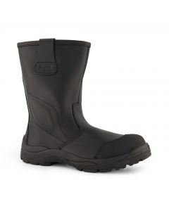 Dapro Rigger C S3 C Safety Boots - Black - Composite Toecap and Anti-Perforation Textile Midsole