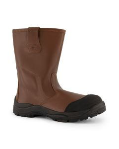 Dapro Rigger C S3 C Safety Boots - Brown - Composite Toecap and Anti-Perforation Textile Midsole
