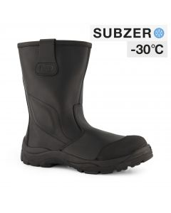Dapro Rigger C S3 C Subzero® Fur Lined and Insulated Safety Boots - Black - Composite toecap and Anti-Perforation Textile Midsole