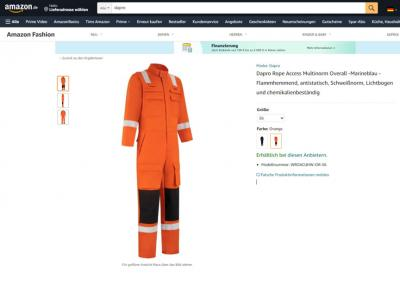 Dapro Safety products are now available on Amazon.de!